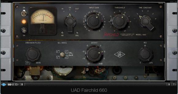 Der Fairchild 660 in der Gesangseinstellung