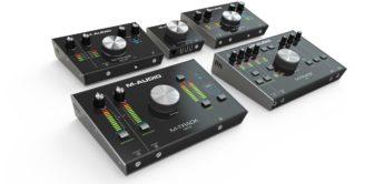 Top News: M-Audio M-Track Audiointerfaces, Audiointerfaces