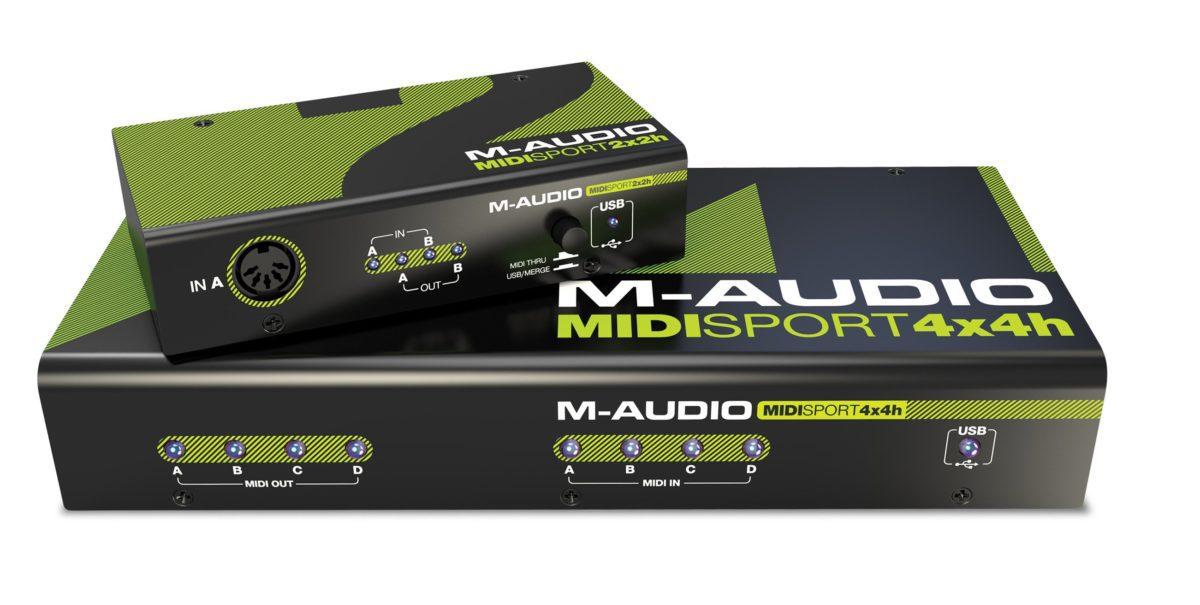 Alles über M-Audio, Oxygen 8, Avid M-Audio, MIDI-to-Tape Synchronizer
