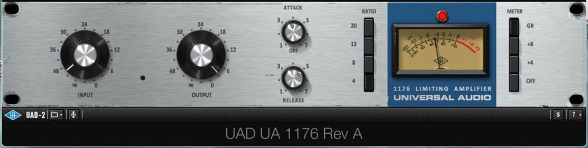 Der UA 1176, ein klassischer Gesangskompressor