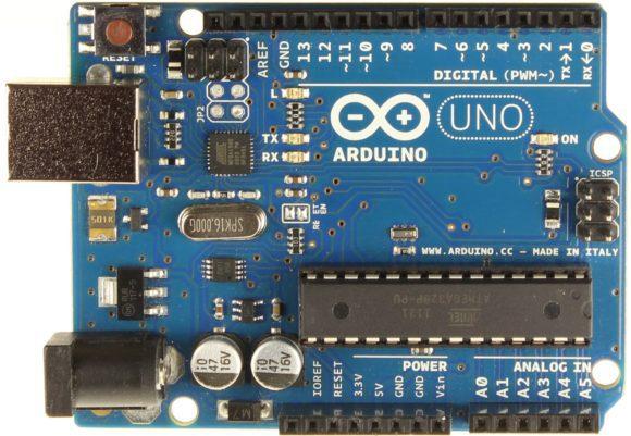das Herz des Atmegatron - Arduino Uno