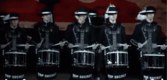 Sensationelle Drum-Parade