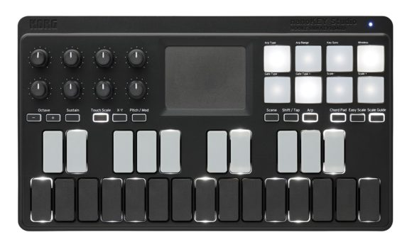 Korg nanoKEY_Studio_top