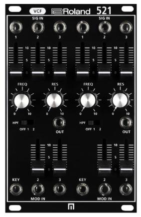 Roland 521 VCF