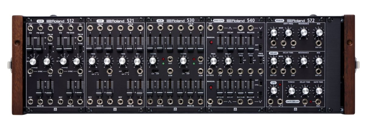 Roland System 500 frontal