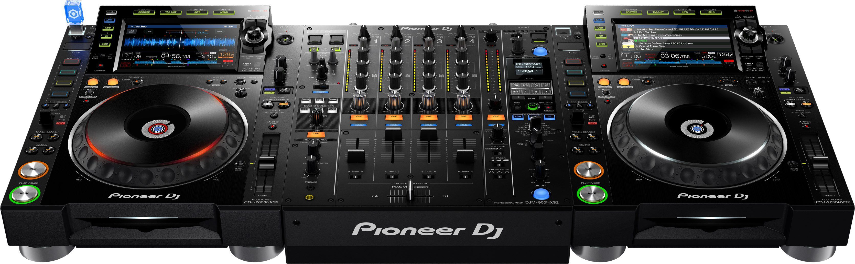 Top News: Pioneer CDJ-2000NXS2 und Pioneer DJM-900NXS2, DJ ...