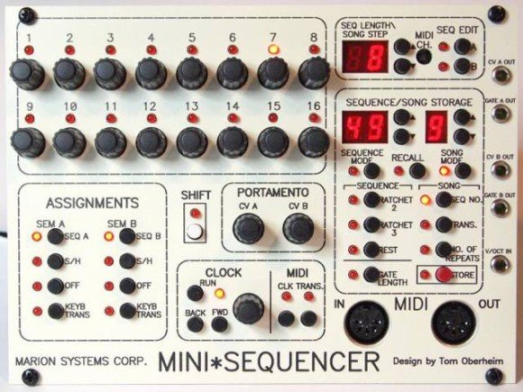 marion systems-mini sequencer