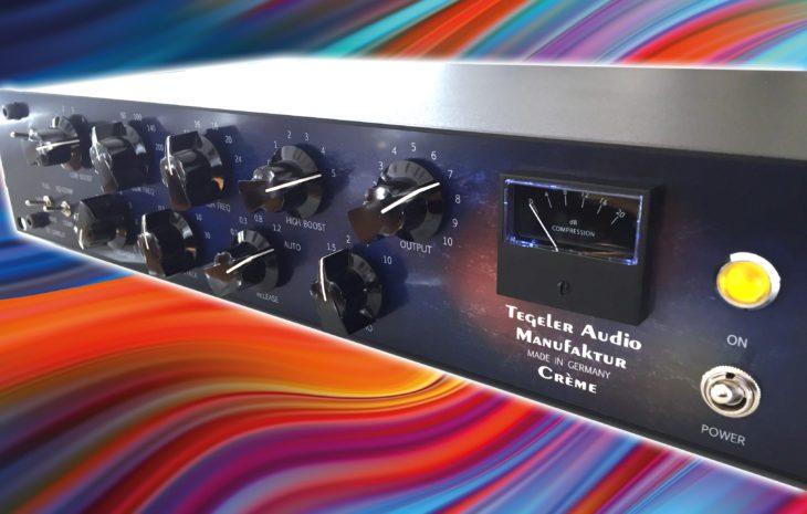 Tegeler Audio Crème, Stereo EQ Kompressor