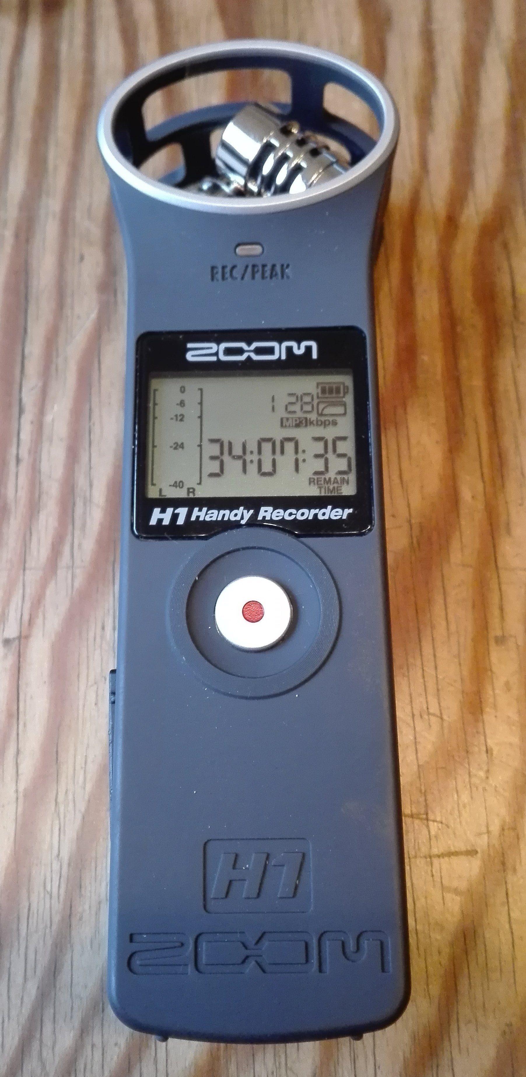 Test Zoom H1 Matte Black Mobiler Recorder Aph 1 Accessory Package For V2