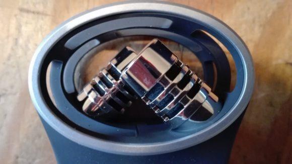 Die Mikrofon-Kapseln in X-Y-Anordnung