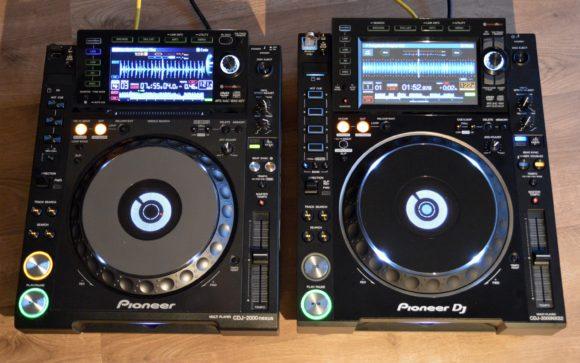 Pioneer CDJ-2000Nexus vs. Pioneer CDJ-2000NXS2