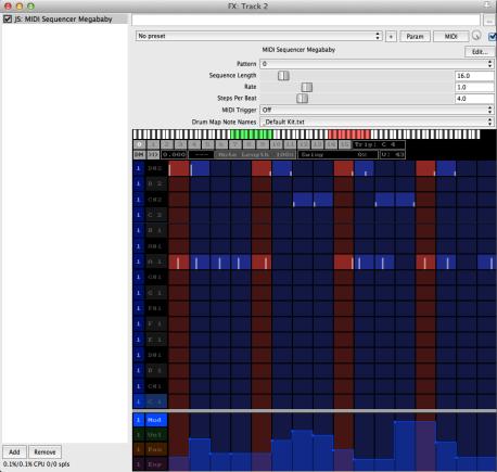 Step-Sequenzer in der Deluxe-Version