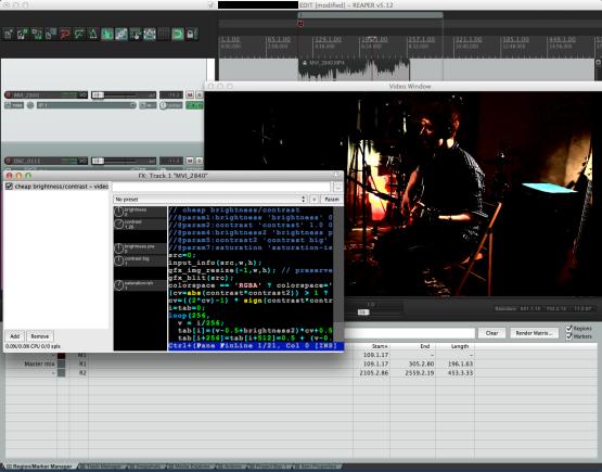 Videos können jetzt Mehrspurig angelegt werden und es sind einfache Bearbeitungs-PlugIns integriert. Somit wird Videoschnitt möglich.