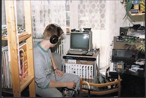 Klein Andi in seinem Studio.
