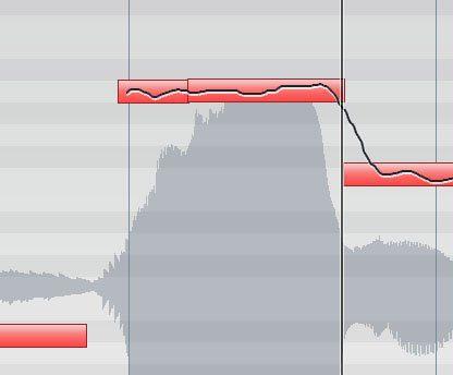 Studio-Gesang bearbeiten, die richtige Intonation