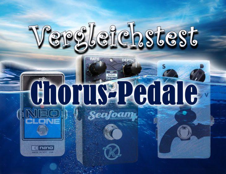 Vergleichstest Chorus-Pedale