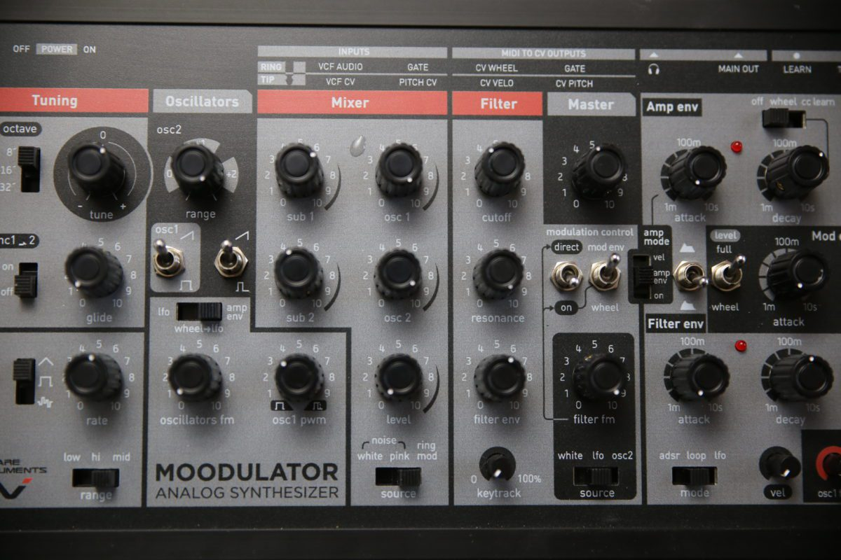 Moodulator Mix/Filter