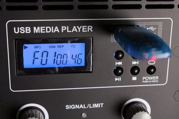 Der Media Player ist einfach zu bedienen