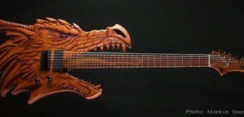 15 abgefahrene E-Gitarren von Star Wars bis Big-Food