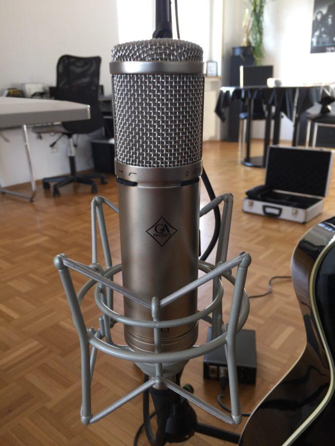 warmer Alleskönner - Golden Age Röhrenmikrofon