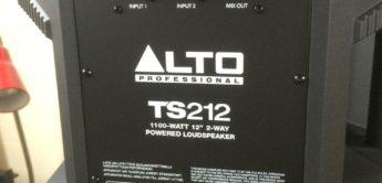 Test: Alto TS212, Aktivbox
