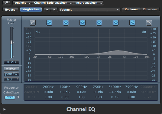 Ein EQ beim Guitar Recording per Plugin oder Pedal
