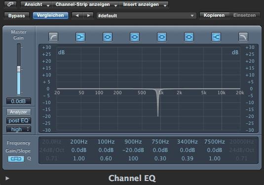 Dafür benötigst du ein EQ beim Guitar Recording