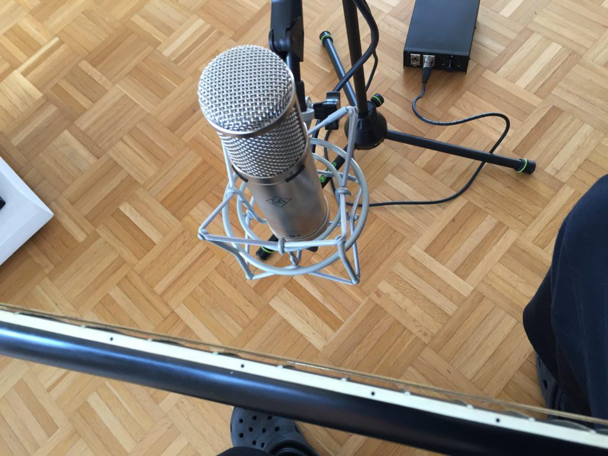 Workshop: Akustikgitarren aufnehmen