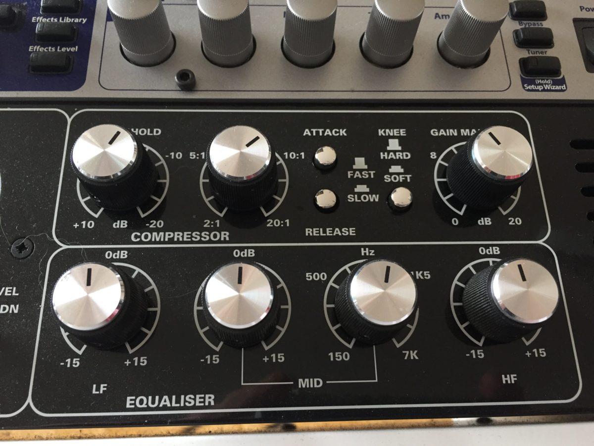 Tutorial für E-Gitarren Recording - der Equalizer