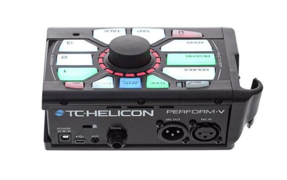 TC-Helicon Perform-V Rueckseite