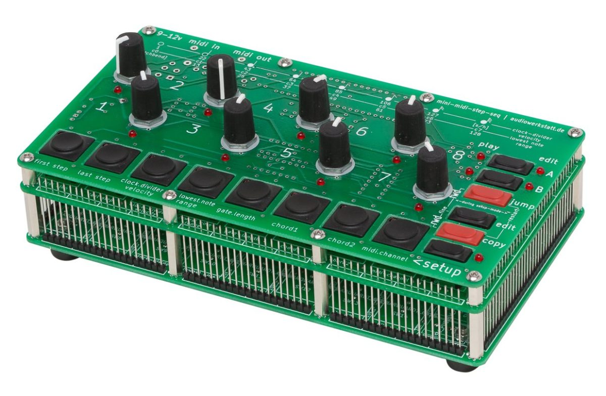 audiowerkstatt mini midi step seq