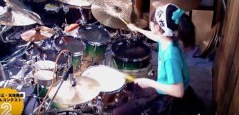 Krasse 16 (!) jährige Drummerin!