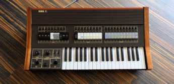 Blue Box: Korg Sigma KP-30 Analogsynthesizer