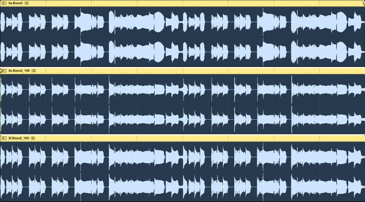 Der dbx 160 am Bass