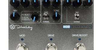Test: Keeley Mod Workstation 3, Multieffektgerät für Gitarre