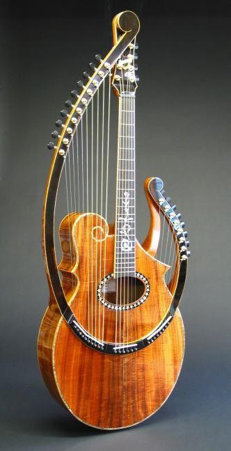 Harfengitarre