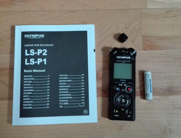 Sparsam: Olympus LS-P2