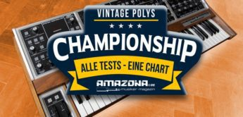 Championship: Die besten Polyphonic Vintage-Synthesizer