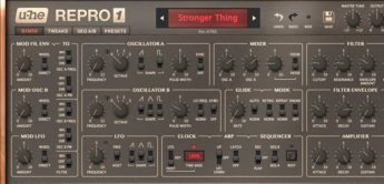 Report: U-He RePro, Sequential Pro-One Plug-in