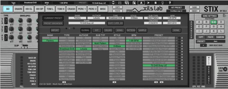 Xils-Labs StiX 1.5 Preset-Manager