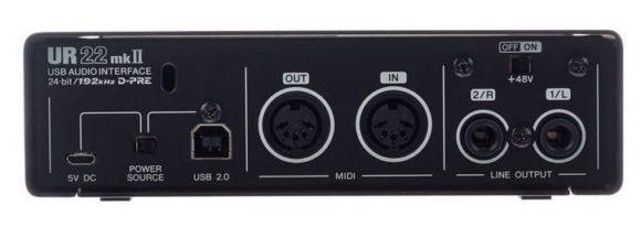 Rückseite des UR22 MK2