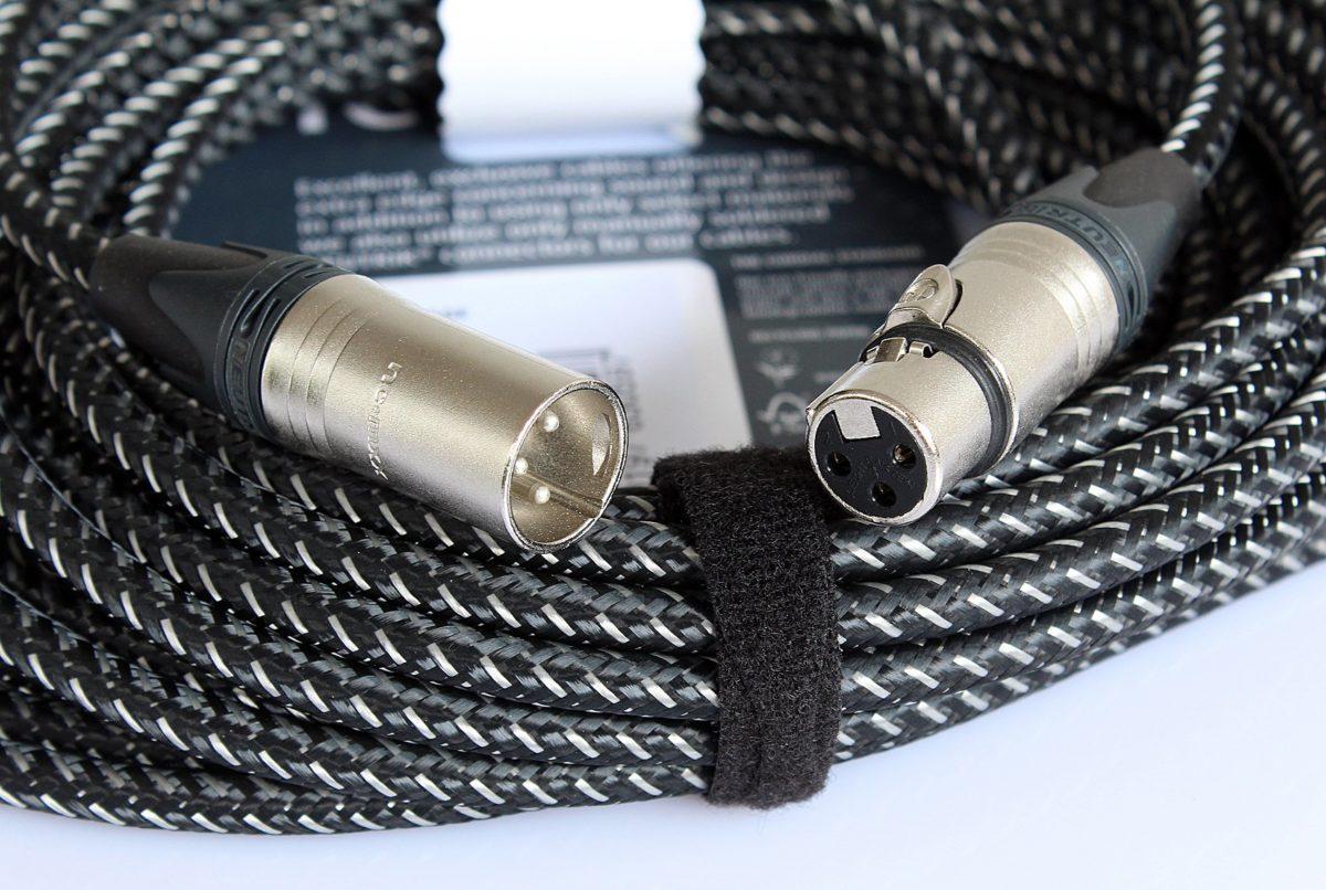 Vintage Mikrofonkabel