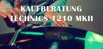 Kaufberatung: Technics 1210 MKII Turntable