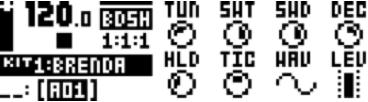 Elektron Analog Rytm 1.30c - Sharp Bass Drum