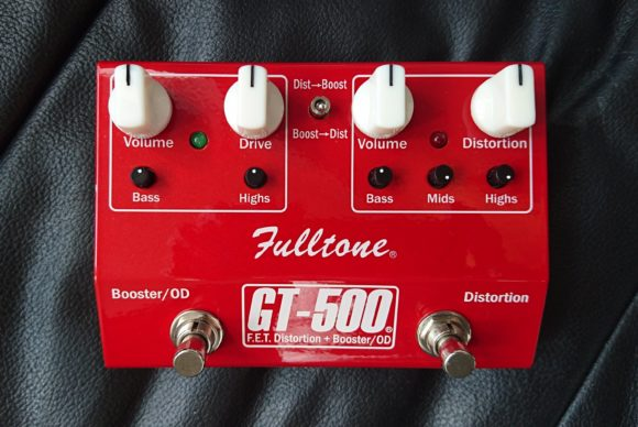 FulltoneXGT500XDraufsicht