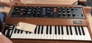 Moog Model D Re-isssue via Kurt Karasaki