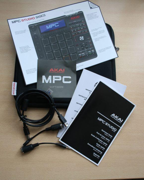 AkAI MPC Studio Black Zubehoer