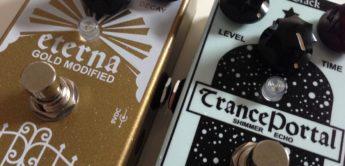 Test: Mr. Black Eterna Gold Modified Reverb und Trance Portal, Effektgeräte für Gitarre