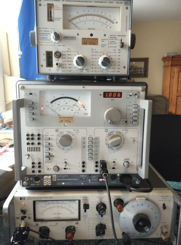 Fairchild 670 Pfeffer Nachbau Audiomessgeraete