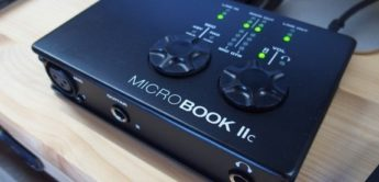 Test: Motu MicroBook IIc, USB/iOS-Audiointerface